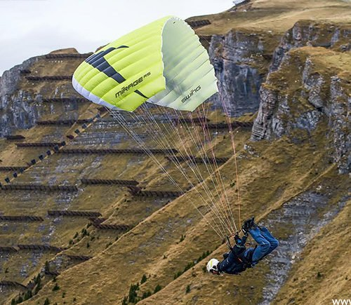 swing mirage rs speed flying